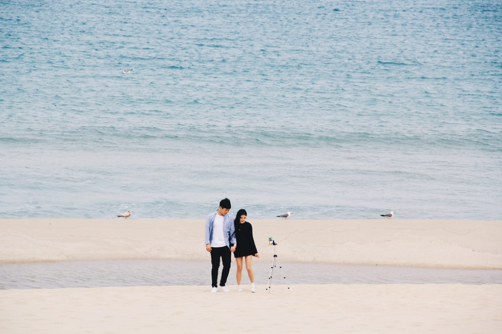 Couple in South Korea.