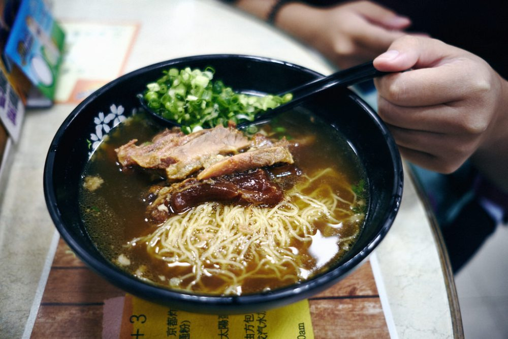 Travel & Food Photography | Beef brisket and tendon noodles at Kuen Kee Cafe Company Hong Kong