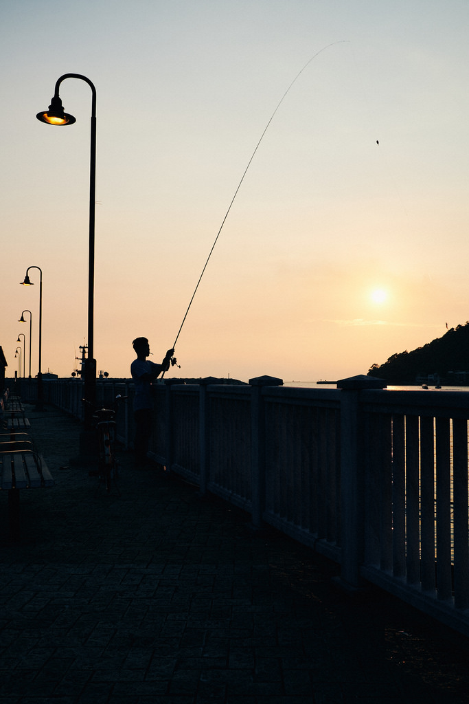 Travel Photographer | Sunset at Tai O Fishing Village Stilt Houses Hong Kong