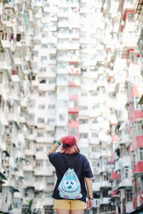 Travel portrait photographer | Montane Mansion Quarry Bay Hong Kong