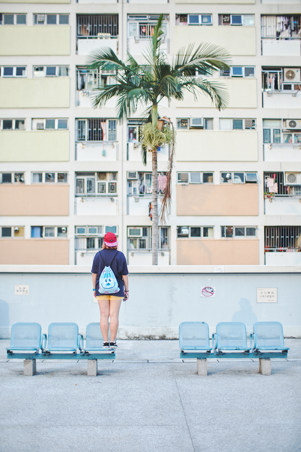 Travel portrait photographer | Choi Hung Estate Kowloon Hong Kong