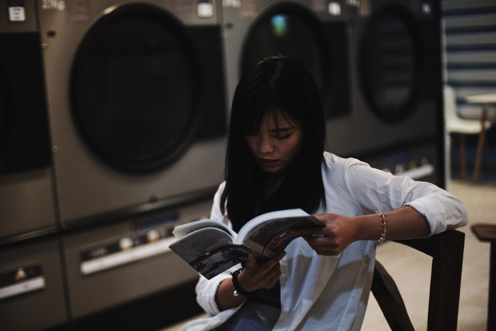 Photographer | Laundromat Sinchon Seoul South Korea