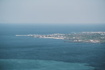 View from Seongsan Ilchulbong Peak (성산일출봉), Jeju