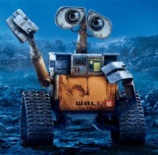 Future Earth Czar WALL-E unveils Trash Talkin' Manifesto during stump speech in T.S. Elliot's Wasteland