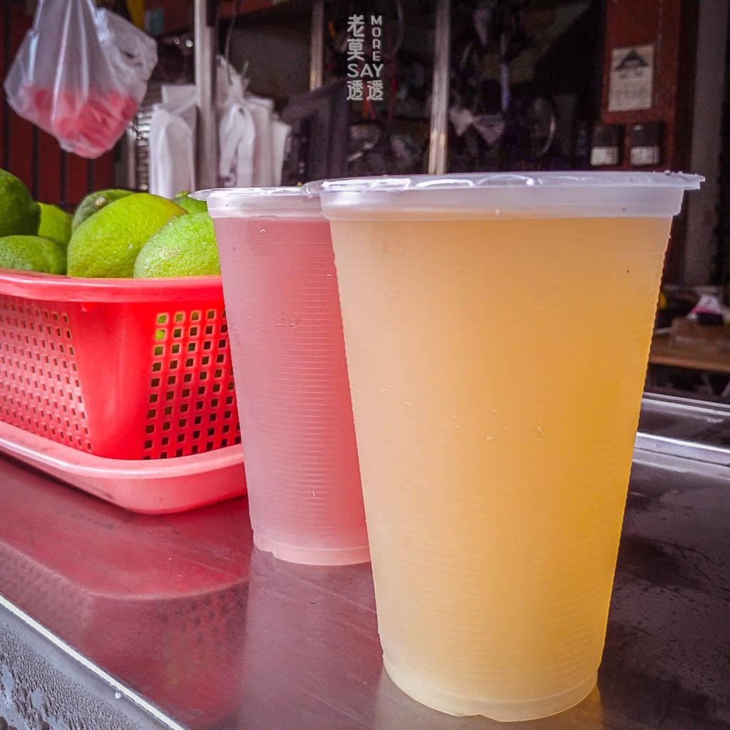 《新營 美食》阿福涼茶,在地40年 老店,來2杯古早味飲料!蓮藕茶,楊桃湯