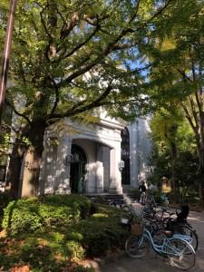 深川図書館の秋