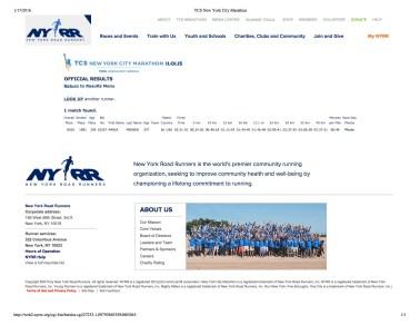 "Preview of ""TCS New York City Marathon"""