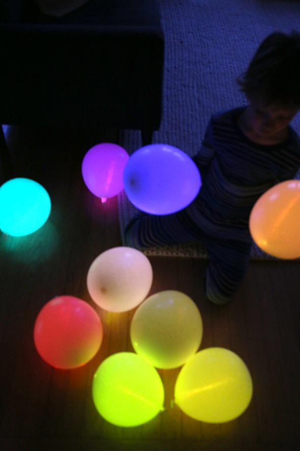Diy Glow Stick Balloons diy glow stick