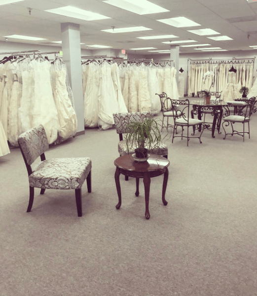 say yes for less new location bridal