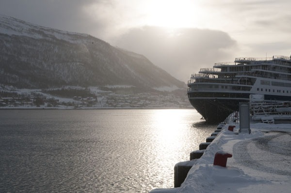 Hurtigruten in Tromso