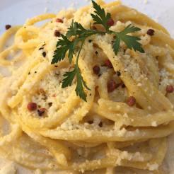 Spaghetti pecorino e pepe