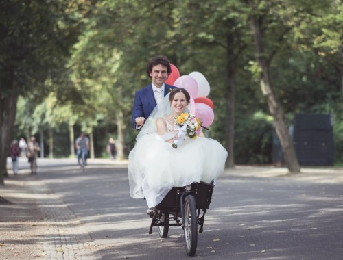 Wedding photo Vondelpark