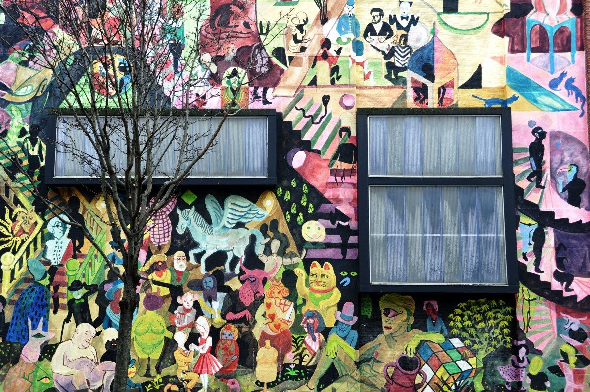 Antwerp mural