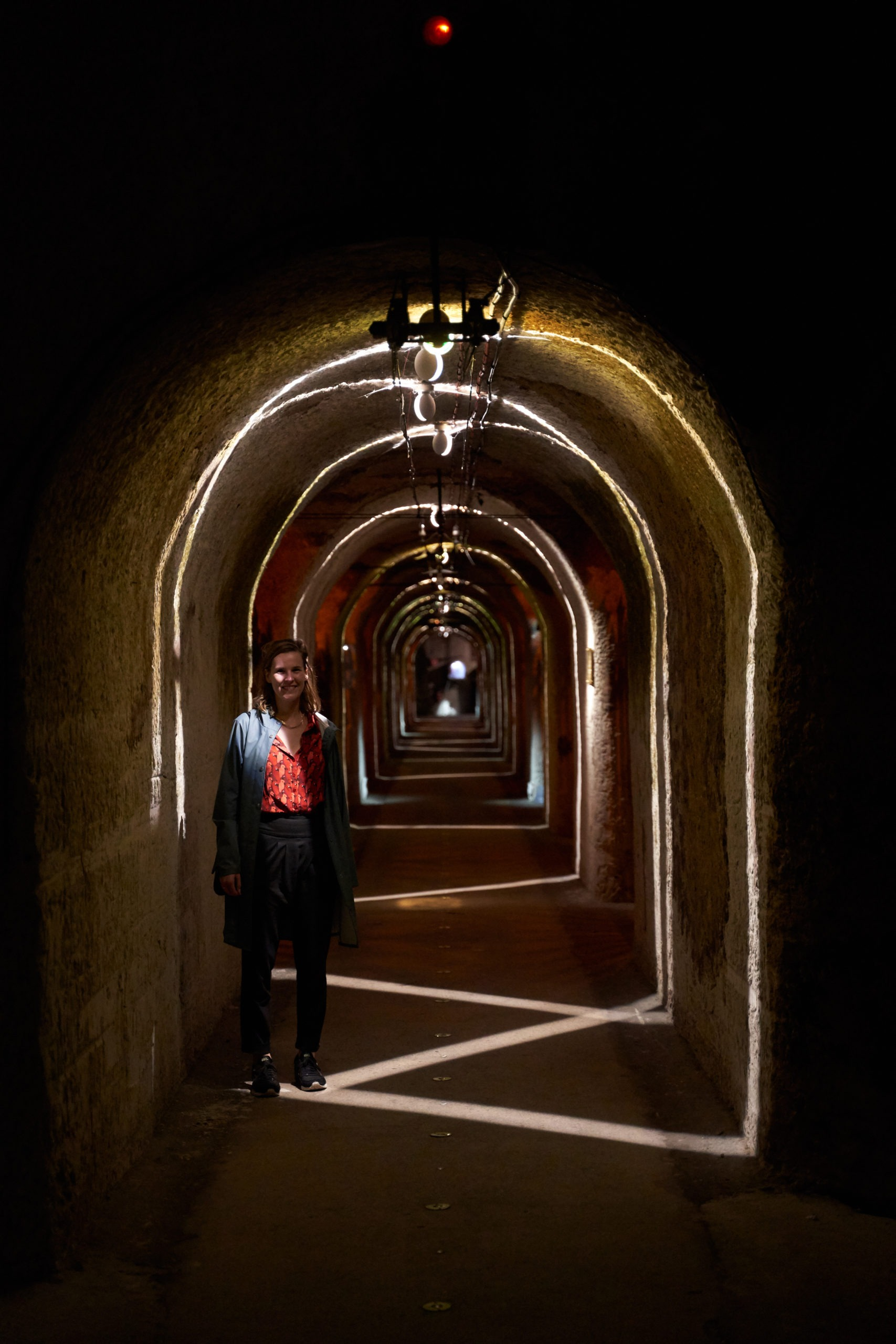 The cellars of Pommery