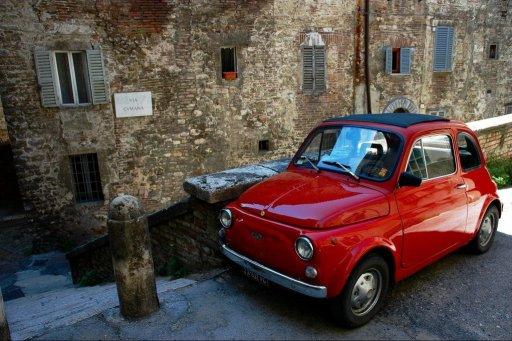 Fiat 500 in Perugia Italy