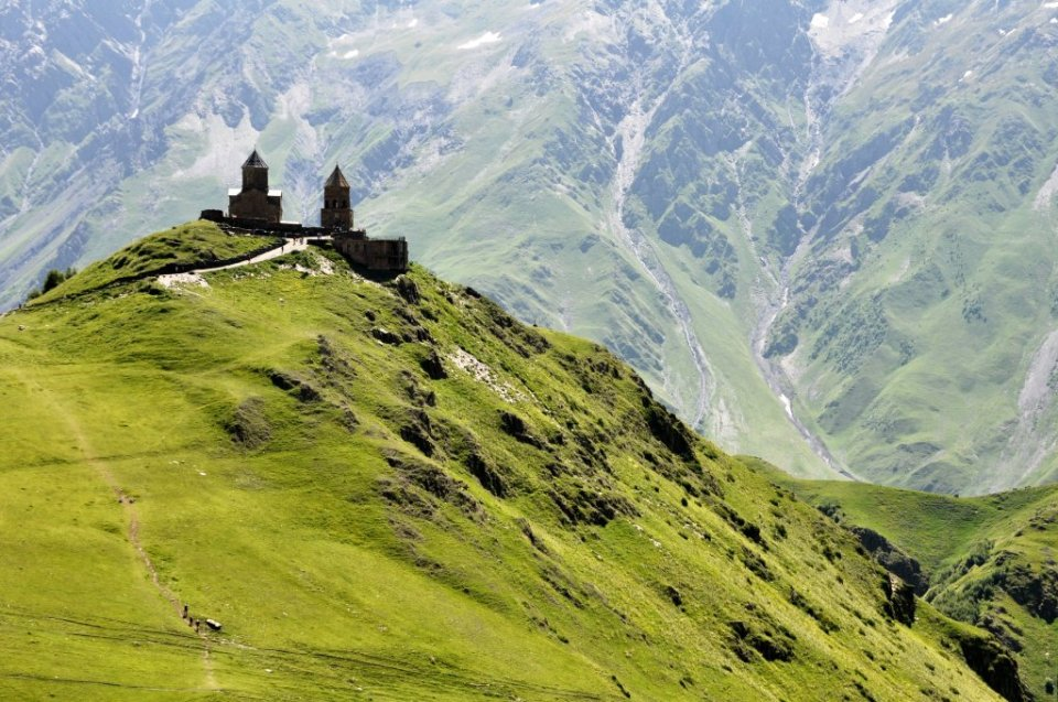 Gergeti Trinity Church - Kazbegi day hikes