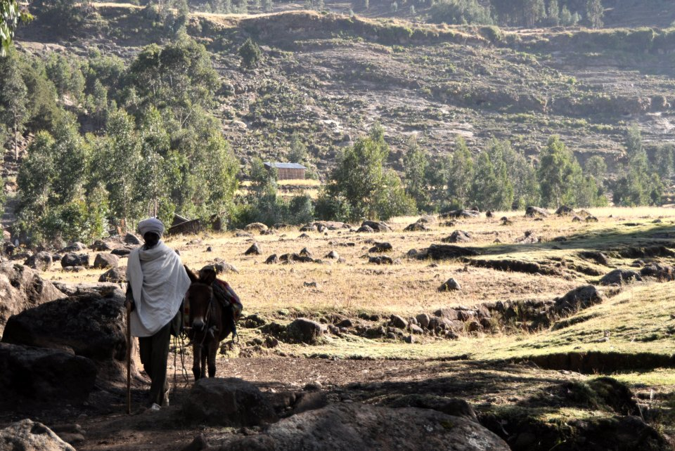 Hiking in Lalibela