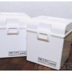 セリアの白CD-BOXケースを4つ組み合わせれば、白カラーボックスにピッタリサイズで収納できる!【100均で買える白ものグッズでスッキリ収納 vol.2】