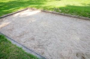 コンクリート枠砂場