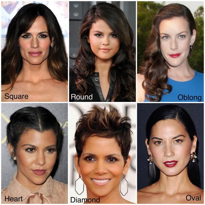 hairstyles-face-shape - sazan