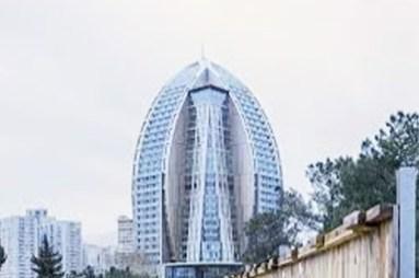 Trump Towers, Baku, Azerbaijan.