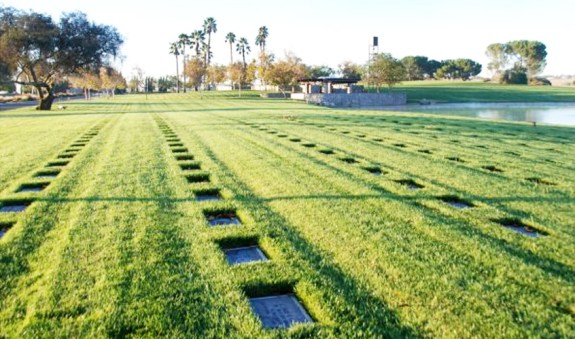 An VA-supported initiative will see UCR faculty and students collaborate with Riverside-based K-12 schools to document the stories of those interred at Riverside National Cemetery (above).