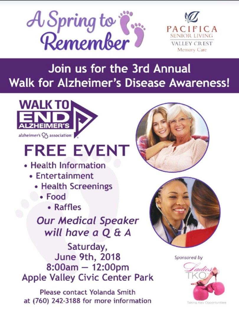 Alzheimer's Flyer