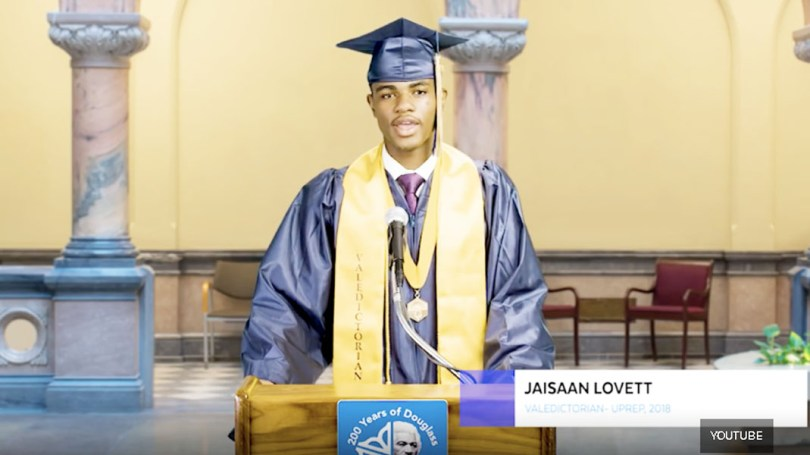 First Black Valedictorian silenced