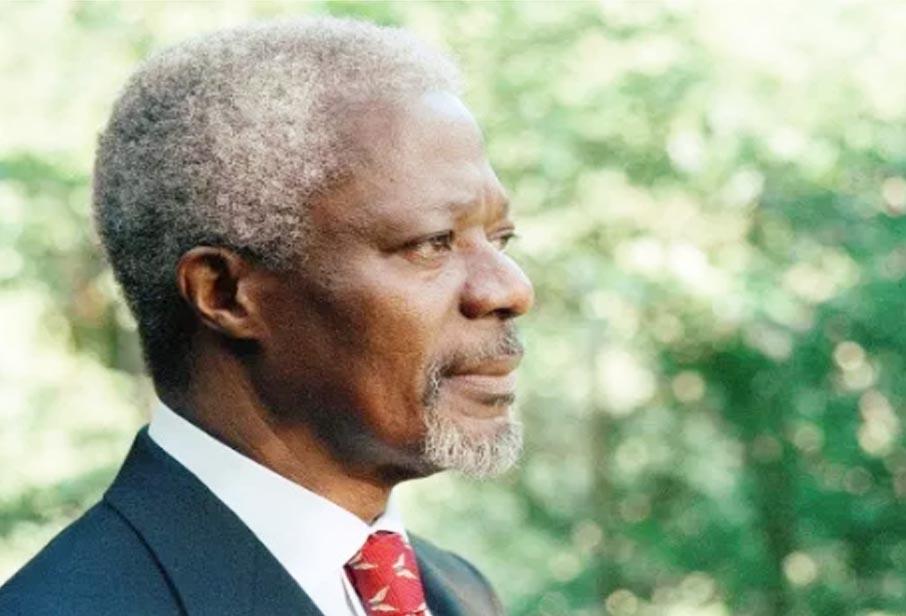 Gen Kofi Annan