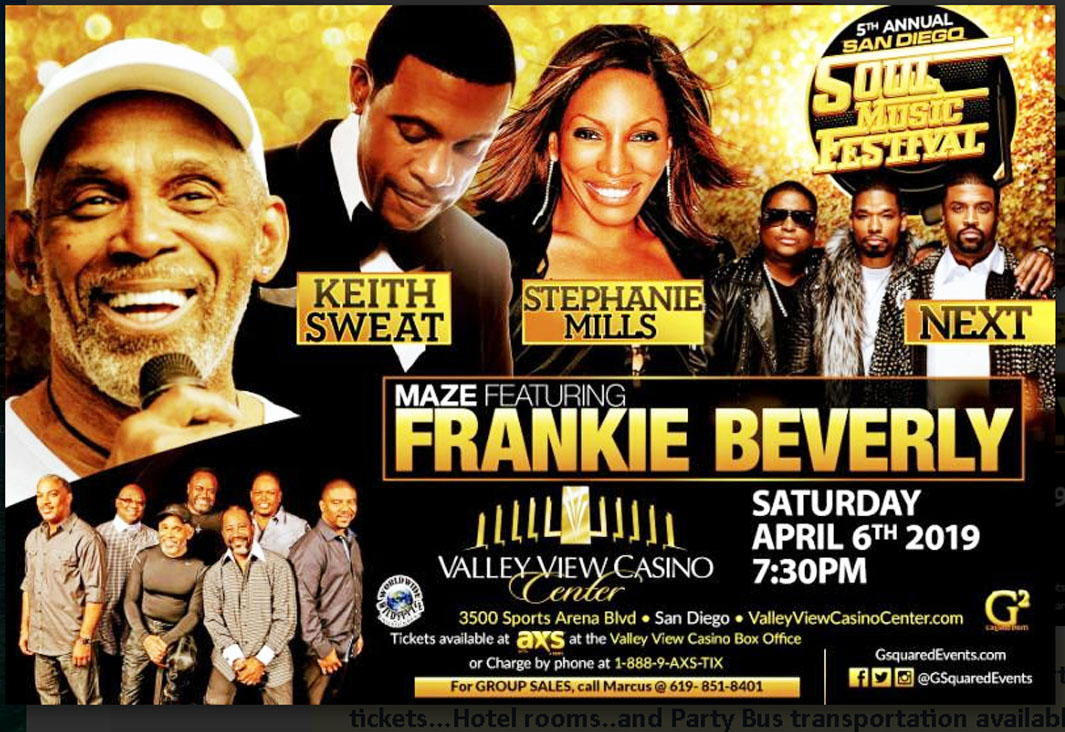 Frankie Beverly & Maze Concert
