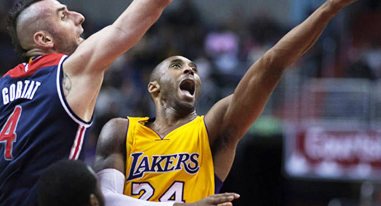 Kobe of LA Lakers