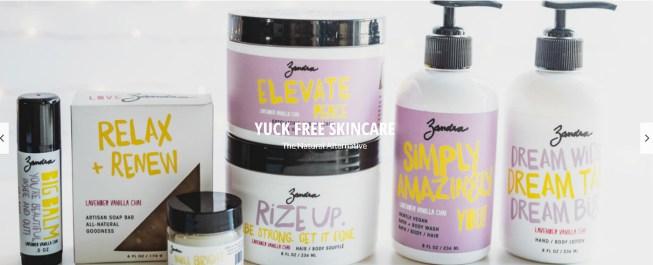 Zandra products