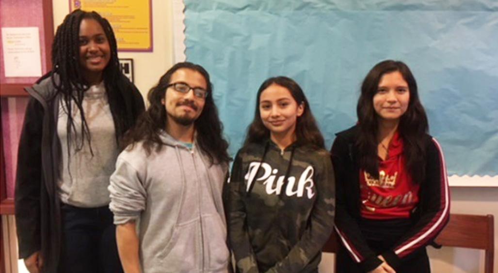 Four Lynwood High School students