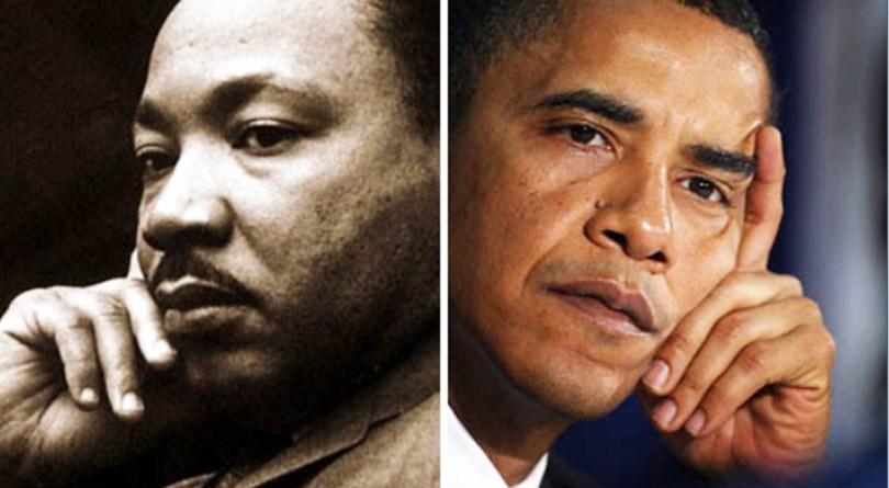 MLK and Obama