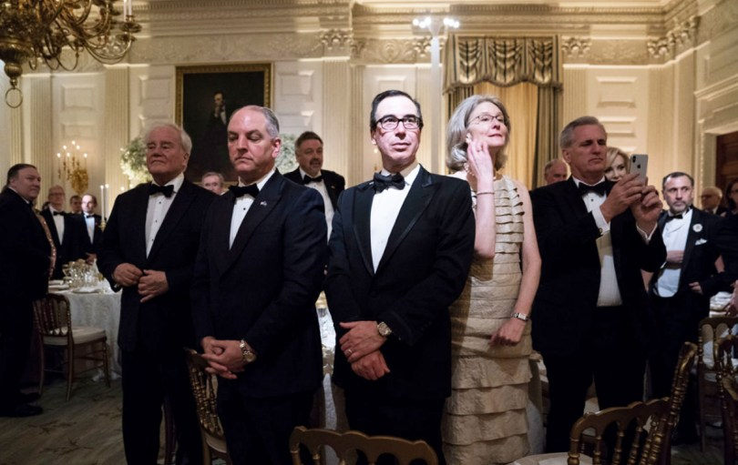 Sec Steve Mnuchin and others
