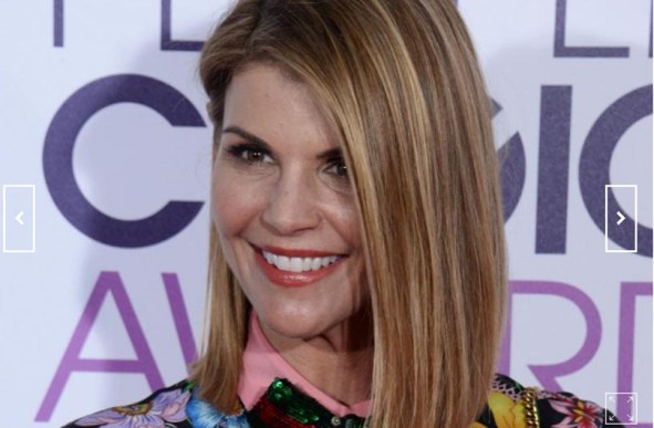 Actress Lori Loughlin attends the 43rd annual People's Choice Awards at the Microsoft Theater in Los Angeles on January 18, 2017. Photo by Jim Ruymen/UPI | License Photo