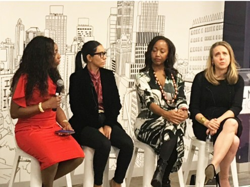 The 2018 Empowering women in Media, a networking and panel event that presented women of color in media sharing their stories with other women who are looking to break into the world of media/En la Escena/Kizzy Cox.