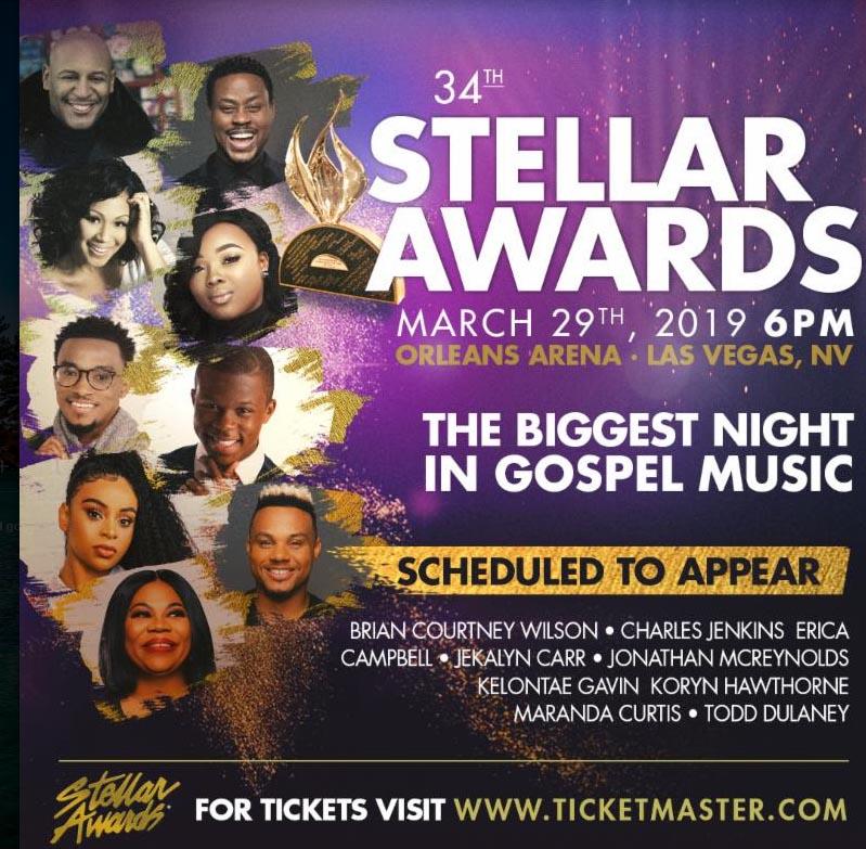 Stellar Awards flyer