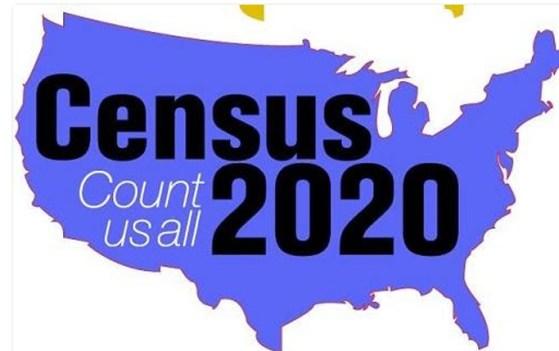 Census 2020 map photo