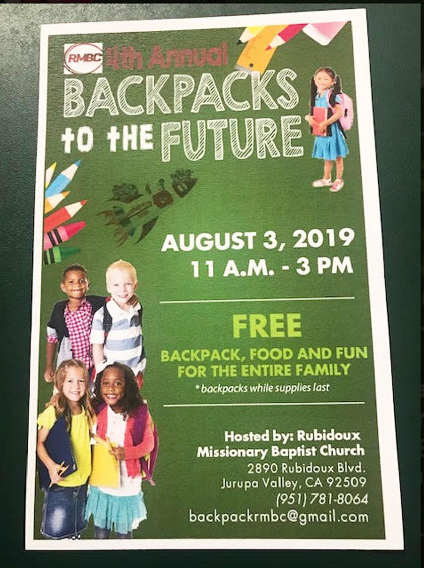 Free Backpacks photo