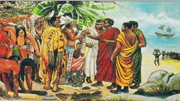 Christopher Columbus & Africa America