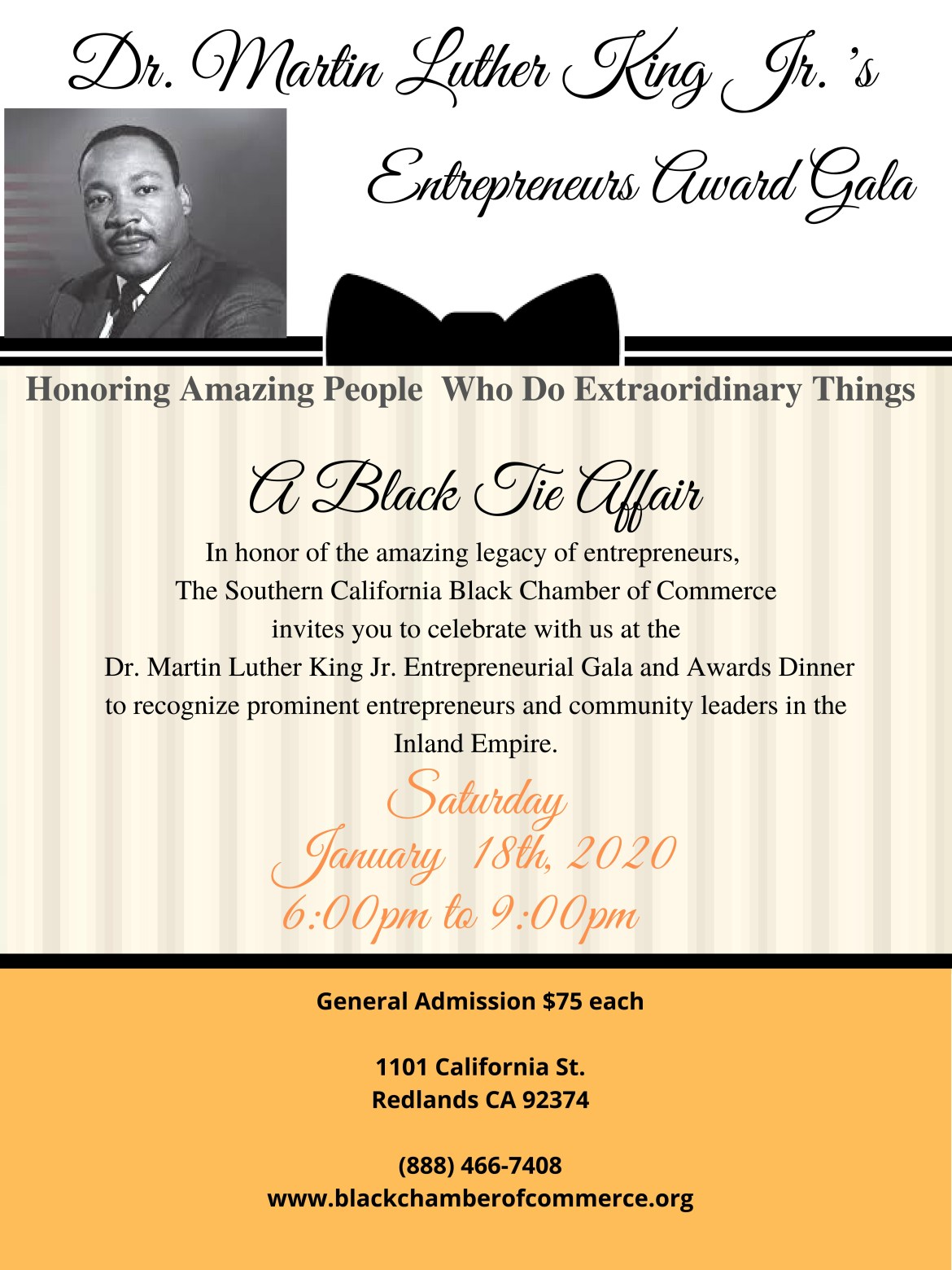 The 2nd Annual Entrepreneurs Gala