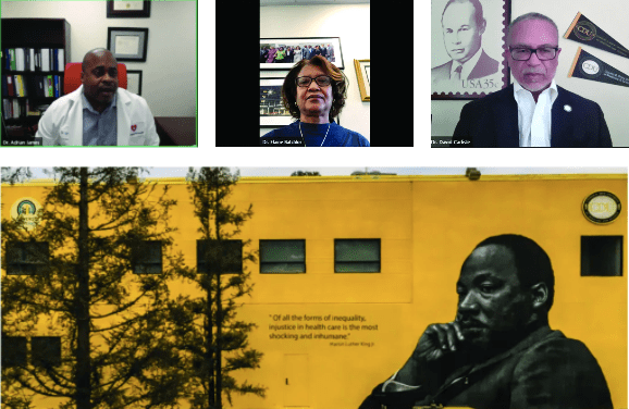 In Dr. King's Honor, California Black Doctors Call for Urgent Action During COVID-19 Crisis
