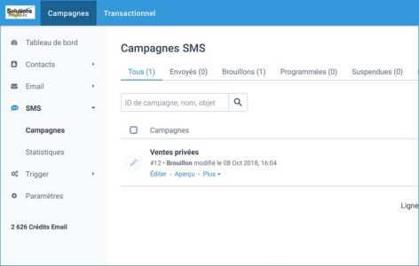 Emailing et SMS