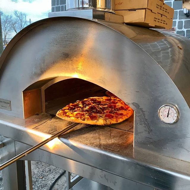 Pizza Oven on new 4 and 20 Bakers Food Truck