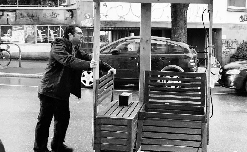"""Stadt macht Druck auf Parklets """"Im Grün"""""""