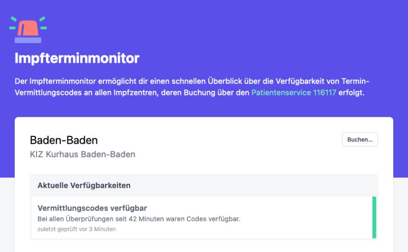 Impfterminmonitor.de