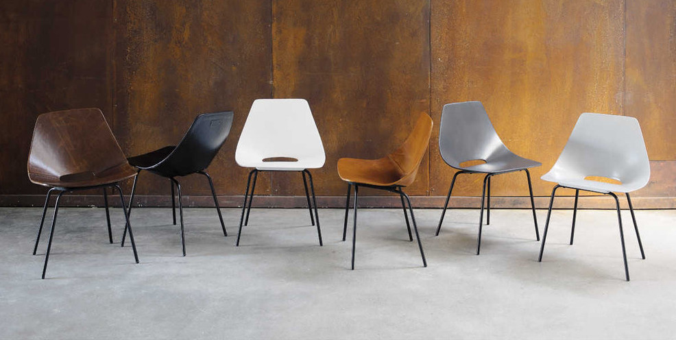 La sedia tonneau di pierre guariche sbandiu momenti di - La sedia di design ...