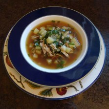 Chard, Chicken & Potato Soup