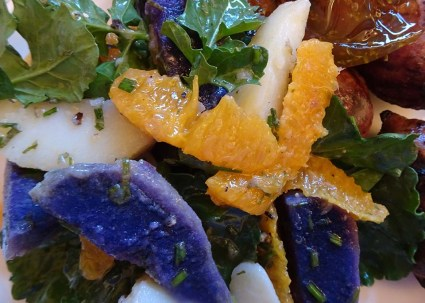 Nana Mac's Potato and Orange Salad - 7